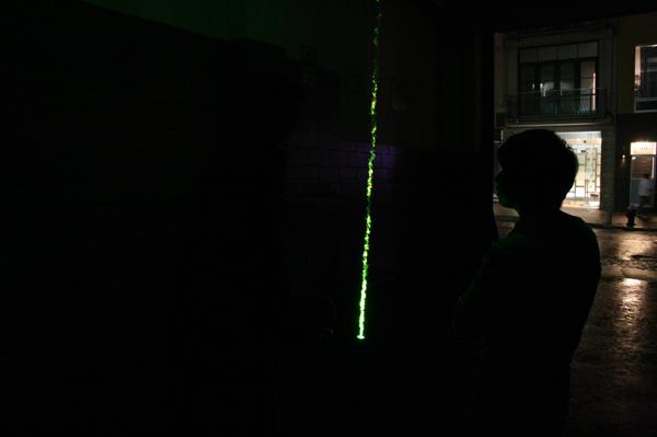 Laser Pendulum